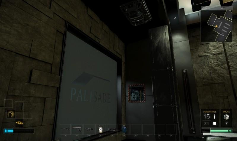 Překážka and Palisade Bank